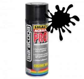 Spray email lucios SMALTO acrilic profesional NEGRU PROFUND RAL9005 - 400ml