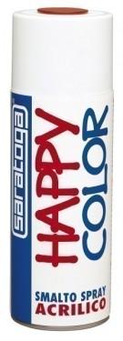 """Vopsea spray """"HAPPY COLOR"""" acrilic ROSU TRAFFIC RAL 3020 400ml"""