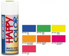 "VOPSEA SPRAY ""HAPPY COLOR"" FLUORESCENT GALBEN 400ml"