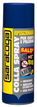 Spray adeziv repozitionabil - 400ml