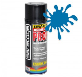 Spray email lucios SMALTO acrilic profesional ALBASTRU TRAFFIC RAL5017 - 400ml