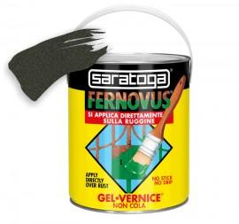 Vopsea gel FERNOVUS cu mica - 2.5 L - culoare negru antichizat
