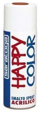 """Vopsea spray """"HAPPY COLOR"""" acrilic VERDE SMARALD RAL 6001 400ml"""