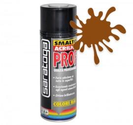 Spray email lucios SMALTO acrilic profesional MARO NUC RAL8011 - 400ml