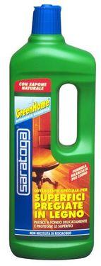 Detergent special GreenHome pt. suprafete pretioase din lemn - 1L