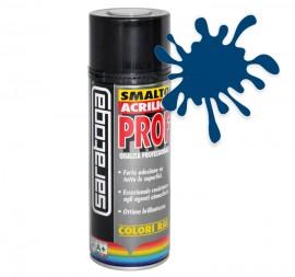 Spray email lucios SMALTO acrilic profesional ALBASTRU SAFIR RAL5003 - 400ml