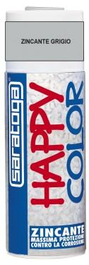 """SPRAY """"HAPPY COLOR"""" ZINCANT GRI - 400ml"""