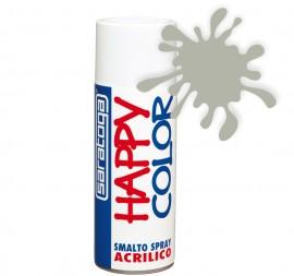 """Vopsea spray """"HAPPY COLOR"""" acrilic GRI SILICIU RAL 7032 400ml"""