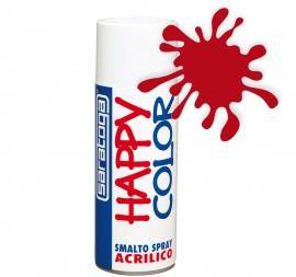 """Vopsea spray """"HAPPY COLOR"""" acrilic ROSU SEMNAL RAL 3001 400ml"""