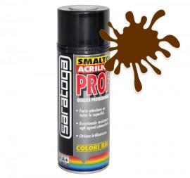 Spray email lucios SMALTO acrilic profesional MARO CIOCOLATA RAL8017 - 400ml