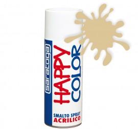 """Vopsea spray """"HAPPY COLOR"""" acrilic FILDES RAL 1014 400ml"""