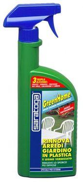 Produs GreenHome reinnoire mobilier de gradina din plastic si lemn vopsit - 500ml