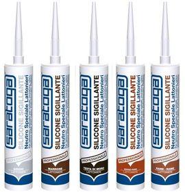 Silicon sigilant neutru pentru FERONERIE de culoare MARO RAL 8028 - 390gr