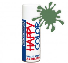 """Vopsea spray """"HAPPY COLOR"""" acrilic VERDE RESEDA RAL 6011 400ml"""