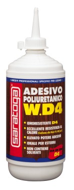 W.D4 adeziv poliuretanic monocomponent - 500gr.