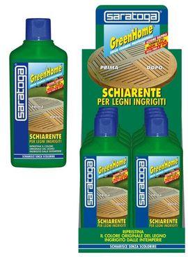 Gel special GreenHome pentru redarea stralucirii lemnului - 2L