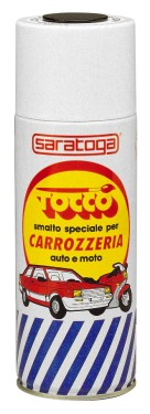 TOCCO SPRAY RETUSARE CAROSERIE AUTO-MOTO NEGRU MAT - 400ml