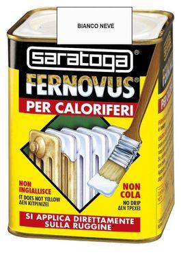 Vopsea gel FERNOVUS pentru calorifere - 750ml - culoare alb zapada