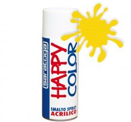 """Vopsea spray """"HAPPY COLOR"""" acrilic GALBEN CADMIU RAL 1021 400ml"""