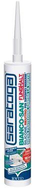 Silicon sigilant neutru BIANCO SAN sanitar anti-mucegai de culoare ALBA - 310ml
