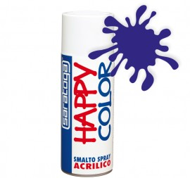 "Vopsea spray ""HAPPY COLOR"" acrilic ALBASTRU MARIN RAL 5002 400ml"