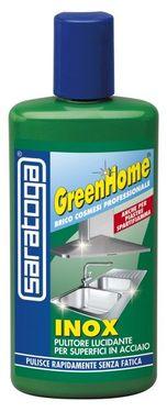 Produs GreenHome de curatare si lustruire obiecte din INOX - 250ml
