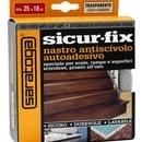 Banda auto-adeziva antiderapanta SICUR-FIX transparenta - bobina 25mm x 18m