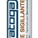 Silicon sigilant neutru METALIZAT pentru aluminiu de culoare GRI METALIZAT - 310ml