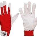 Mănuși de protectie pentru lucru GOLF din piele si bumbac - marimea 10