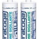 Silicon sigilant acetic anti-mucegai de culoare ALBA RAL 9010 - 280ml