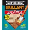 Lac lucios pentru lemn BRILLANT culoare NUC DESCHIS - 750 ml