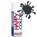 "Vopsea spray ""HAPPY COLOR"" acrilic GRI NEGRU RAL 7021 400ml"