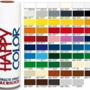 "Vopsea spray ""HAPPY COLOR"" acrilic ALBASTRU TRAFFIC RAL 5017 400ml"