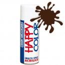 """Vopsea spray """"HAPPY COLOR"""" acrilic MARO CIOCOLATA RAL 8017 MAT 400ml"""
