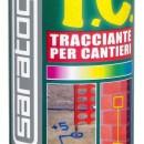 Spray trasator pentru santiere - ROSU FLUORESCENT - 400ml