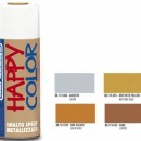 "VOPSEA SPRAY ""HAPPY COLOR"" METALIZAT ARAMIU 400ml"