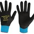 Mănuși de protectie din nylon si poliuretan - negre - marimea 10