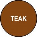 Marker retus lemn culoare TEAK - pachet 12 markere