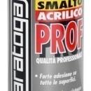 Spray email lucios SMALTO acrilic profesional ALB PUR RAL9010 - 400ml