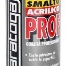 Spray email lucios SMALTO acrilic profesional NEGRU MAT RAL9005 - 400ml