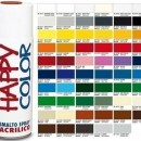 "Vopsea spray ""HAPPY COLOR"" acrilic GRI ALBASTRUI RAL 7031 400ml"