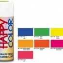 "VOPSEA SPRAY ""HAPPY COLOR"" FLUORESCENT PORTOCALIU 400ml"