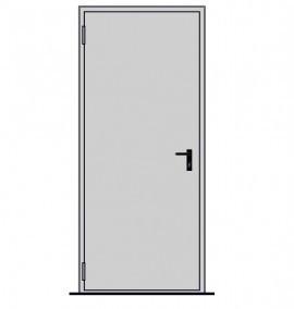 Poze UNIFORM EI 120, 1000x2050, RAL 7035