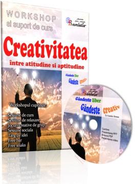 Curs Video - Creativitatea - intre atitudine si aptitudine