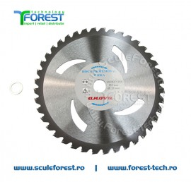 Disc (cutit) motocoasa VIDIA ANOVA, arbusti 255mm 40dinti   SculeForest