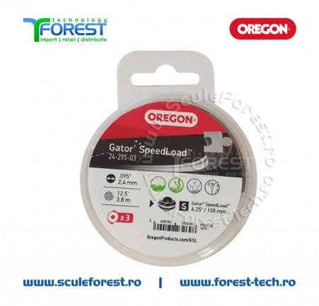 Fir trimmy OREGON Gator SpeedLoad 2.4mm x 3.86m - 3 buc.