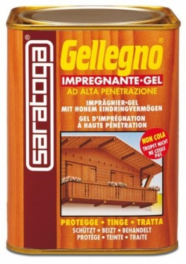 Gel impregnant pentru lemn - GELLEGNO - 750ml - nuanta MAHON