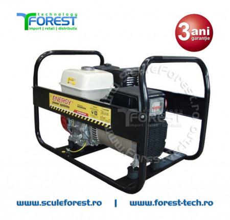 Generator curent trifazic 8.7 kVA Energy 9000 TH, motor Honda, benzina