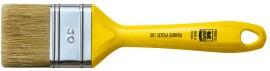 Pensula SAURO 301 cu maner din plastic gol - latime 30mm