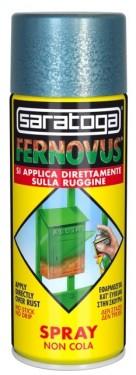 Spray vopsea gel FERNOVUS cu mica - 400 ml - culoare negru antichizat